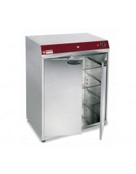 Armoire chauffante ventilée - Capacité 120 assiettes ou Bacs GN 2/3 ou GN1/1