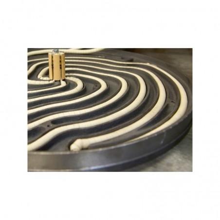 Crêpière professionnelle électrique Krampouz double diamètre 40 cm Gamme Confort - châssis carré