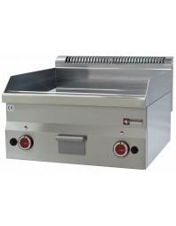 Plaque de cuisson gaz, surface lisse 600 x 600 x h 280/400