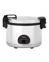 Cuiseur à riz - 12 litres - cuve amovible et anti-adhésive - 40-60 personnes