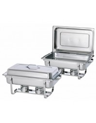 "2 x Chafing dish GN 1/1 - profondeur 65 mm - ""Twin Pack"""