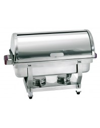 Chafing dish GN 1/1 - profondeur 65 mm à couvercle coulissant