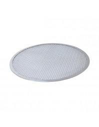 Grille à pizza perforée en aluminium - Différents diamètres