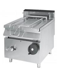 Sauteuse basculante gaz, capacité 80 litres, avec cuve en inox - Série 900