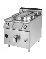 Marmite professionnelle gaz - chauffe indirecte - 150 litres - Série 900