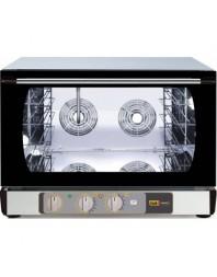 Four à air pulsé avec système d'humidificateur - Multifonction + grill salamandre - 4 niveaux 600 x 400 - MASTER'CHEF