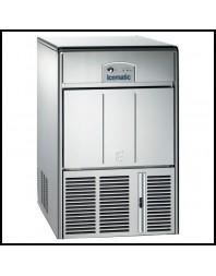 Machine à glaçons creux - système à palettes - Refroidissement à eau - 10 kg réserve pour 25 kg/24H