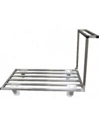 Chariot plateforme plateau barreaudé - Plusieurs dimensions de chariot