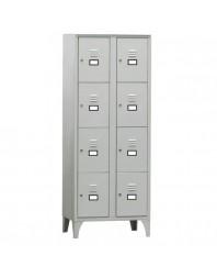 Armoire vestiaire multicases - 4 casiers par colonne