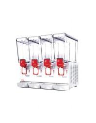 Distributeur de boissons froides - 4 x 5 litres - Gamme COMPACT