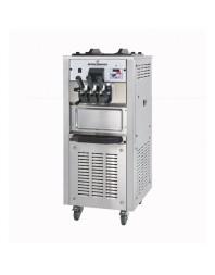 Machine à glaces italiennes verticale sur roulettes - 3 bras ( 2 parfums + 1 panachage)
