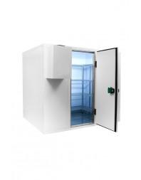 Chambre froide positive/négative sans groupe - Isolation 80 - Ouverture porte 700 mm - Différentes dimensions possibles