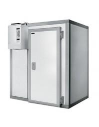 Chambre froide positive/négative sans groupe - Isolation 80 - Ouverture porte 800 mm - Différentes dimensions possibles