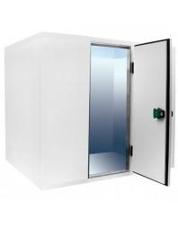 Chambre froide pos/nég sans groupe - Isolation 80 - Ouverture porte 700 mm -H 2010 mm - Différentes dimensions possibles