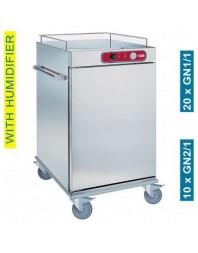 Chariot de maintien à température - 10 x GN 2/1 ou 20 x GN 1/1