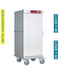 Chariot de maintien à température - 20 x GN 2/1 ou 40 x GN 1/1