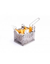 Panier à frites miniatures - 100 x 80 x 70 mm
