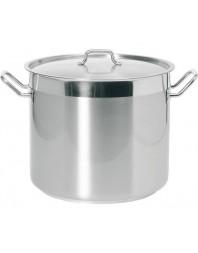 Marmite avec couvercle - 37 litres