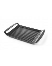 Grill pour plaque de cuisson induction - Fonte d'aluminium