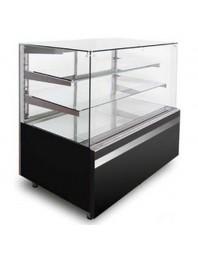 Vitrine neutre de boulangerie - Noire ou Blanche - Différentes dimensions possibles