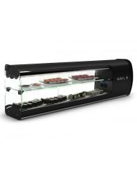 Vitrine réfrigérée 2 étages de la gamme Slim Sushi - 7 x GN 1/6 - Sayl