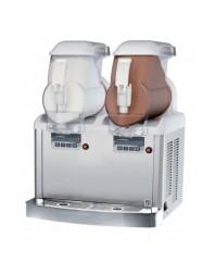 Distributeur de glace à l'italienne - 2 réservoirs 2 x 6 litres