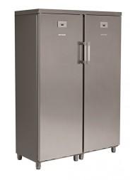 Armoire réfrigérée double positive - 2 x 370 litres +2°/+10°C