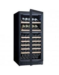 Cave à vin - 102 bouteilles soit 267 litres - 2 plages de températures +5°/+20°C (bas) /+12°/+20°C (haut)