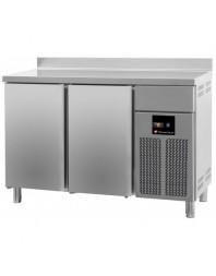 Arrière-bar réfrigéré adossé - 2 portes - TECHNITALIA