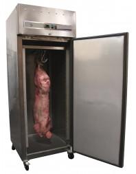 Armoire froide à gibier positive inox - 1 porte - 650 litres - froid ventilé - GN 2/1