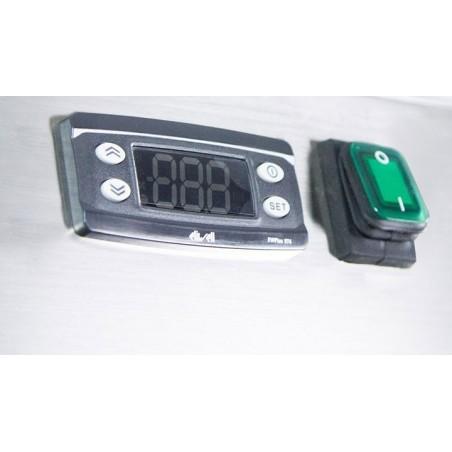 Armoire réfrigérée positive 1 porte sur roulettes - 600 x 800 - AFI