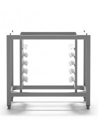 Support de four adaptable au four PF8004/D - PF8003/D et PF7504 et PF7604/D - 5 Plaques - PIRON - Gamme CABOTO