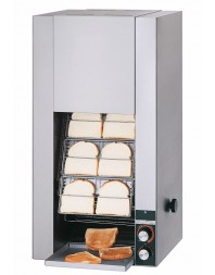 Toaster convoyeur vertical haut rendement 720 tranches/h