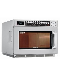 Micro-ondes professionnel GN 2/3 inox- 2 magnétrons - programmable -commandes digitales - 26 L - 1500 W