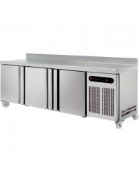 Tour pâtissier adossé - 3 portes - Froid négatif ventilé - 595 L - Technitalia