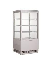 Vitrine réfrigérée blanche - 70 litres - 3 étagères - CARAT