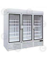 Armoire réfrigérée d'exposition négative -18°/-14°C - 3 portes - 1426 L - CARAT
