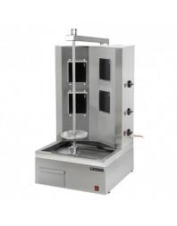 Machine à kebab électrique - 6 plaques - 80 kg/jour - Technitalia