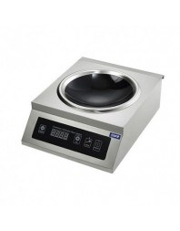 Wok à induction digitale - 3.1 kW - CARAT
