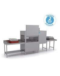 Lave-vaisselle Tunnel - Elettrobar - Lavage + Rinçage - 2 programmes - NIAG4111