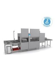 Lave-vaisselle tunnel -Elettrobar - Prélavage + Lavage + Rinçage - 2 programmes - NIAG4112