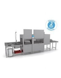 Lave-vaisselle tunnel -Elettrobar - Prélavage + Lavage + Rinçage - 4 programmes - NIAG4122