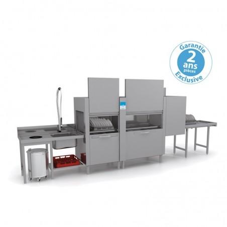 Lave-vaisselle tunnel -Elettrobar - Panier 500 x 500 mm - 4 programmes - NIAG4122