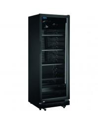Armoire à boissons ventilée noire - 360 litres - GTK 360