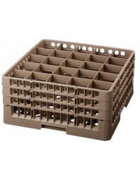 Casier 36 cases pour verres ∅ 74 mm