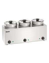 Bain Marie Hotpot - 3 x 3,5 L - Bartscher