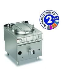 Marmite professionnelle gaz - 150 litres - Chauffe indirecte - Autoclave - Gamme 900 - Baron