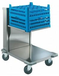 Chariot de transport de casiers lave-vaisselle 500 x 500