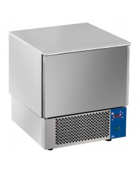 Cellule de refroidissement - 5 x GN 1/1 ou 600 x 400 - T° -18°C - 15 kg