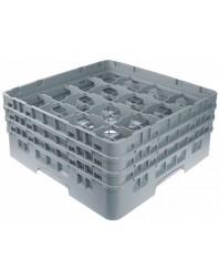 Casier verres 16 compartiments Hauteur 21.6 cm - Ø max 10.9 cm